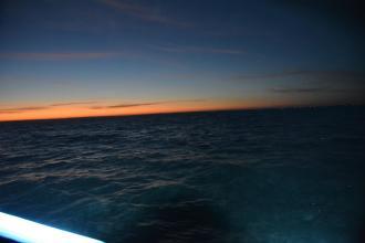 Lever du jour sur la baie d'Audierne