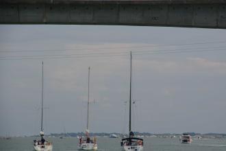 Sous le pont sur la Seudre