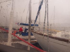 Départ humide vers Brest