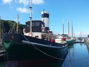 Remorqueur musée à flot Douarnenez
